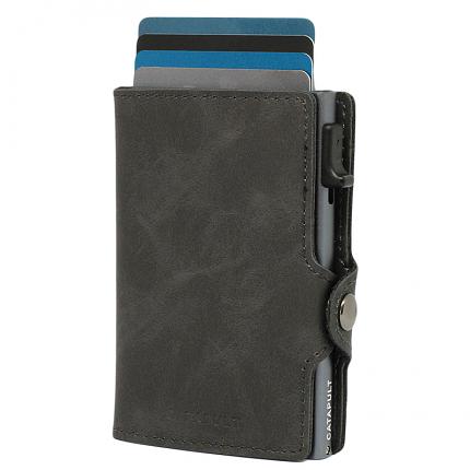 Catapult plånbok Titanium rfid säker korthållare