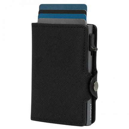 Catapult plånbok Saffiano Titan RFID säker korthållare